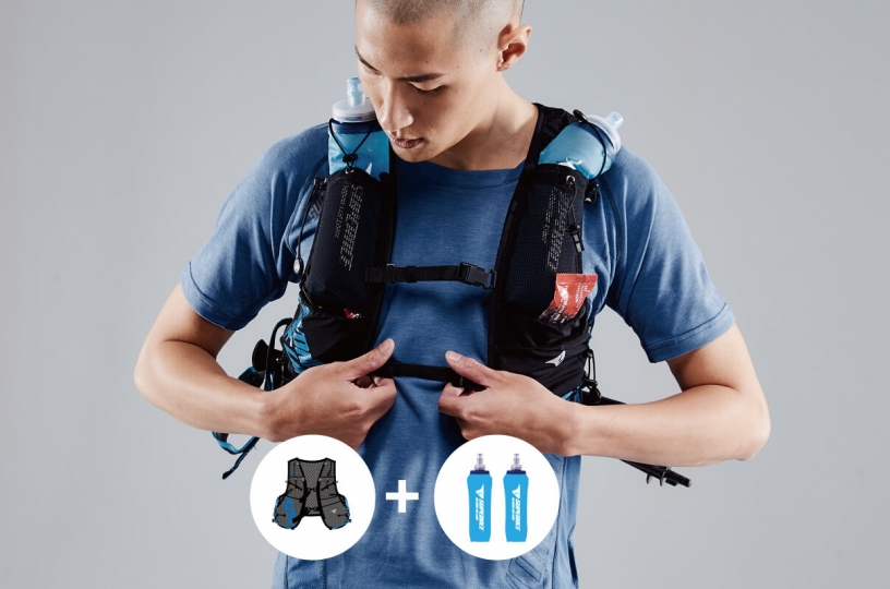 S.ADVANCE 7L TRAIL VEST & SOFT FLASK 500ML