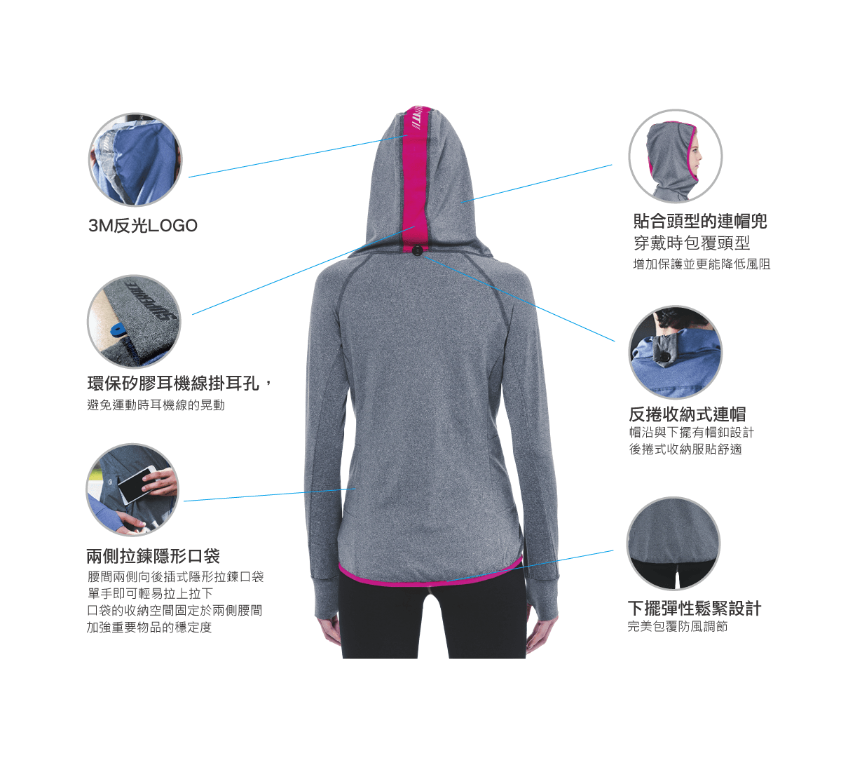 RUNNING SWEAT JKT