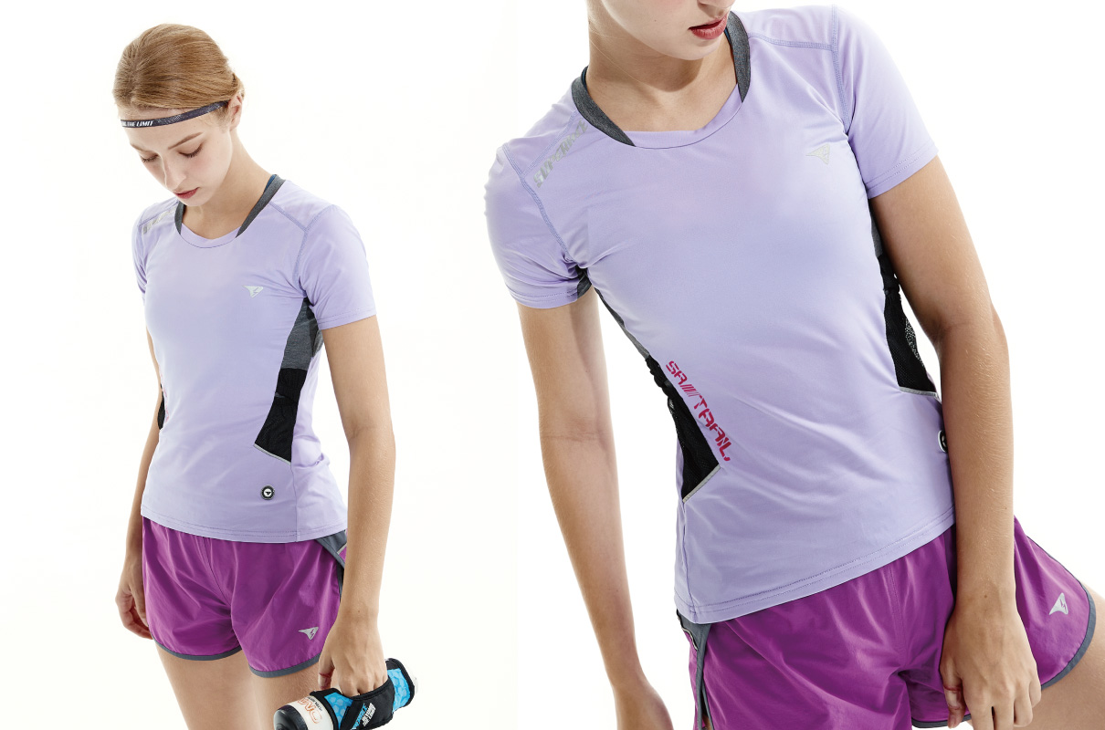 SR-TRAIL RUNNING TEE FOR WOMAN