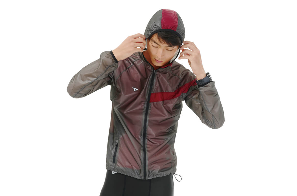 WATERPROOF LIGHTWEIGHT RUNNING JKT / MEN