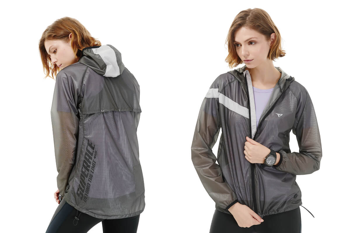WATERPROOF LIGHTWEIGHT RUNNING JKT / WOMEN