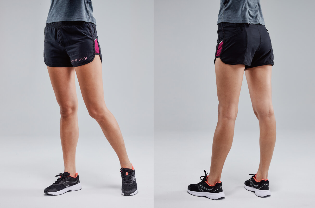 2-IN-1 LIGHTWEIGHT TRAIL SHORTS WOMEN