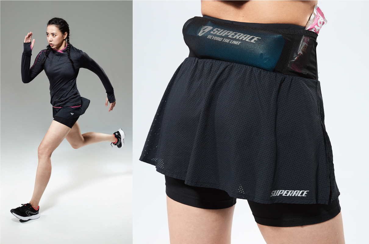 ZERO-FRICTION 2-IN-1 TRAIL SKORTS / WOMEN