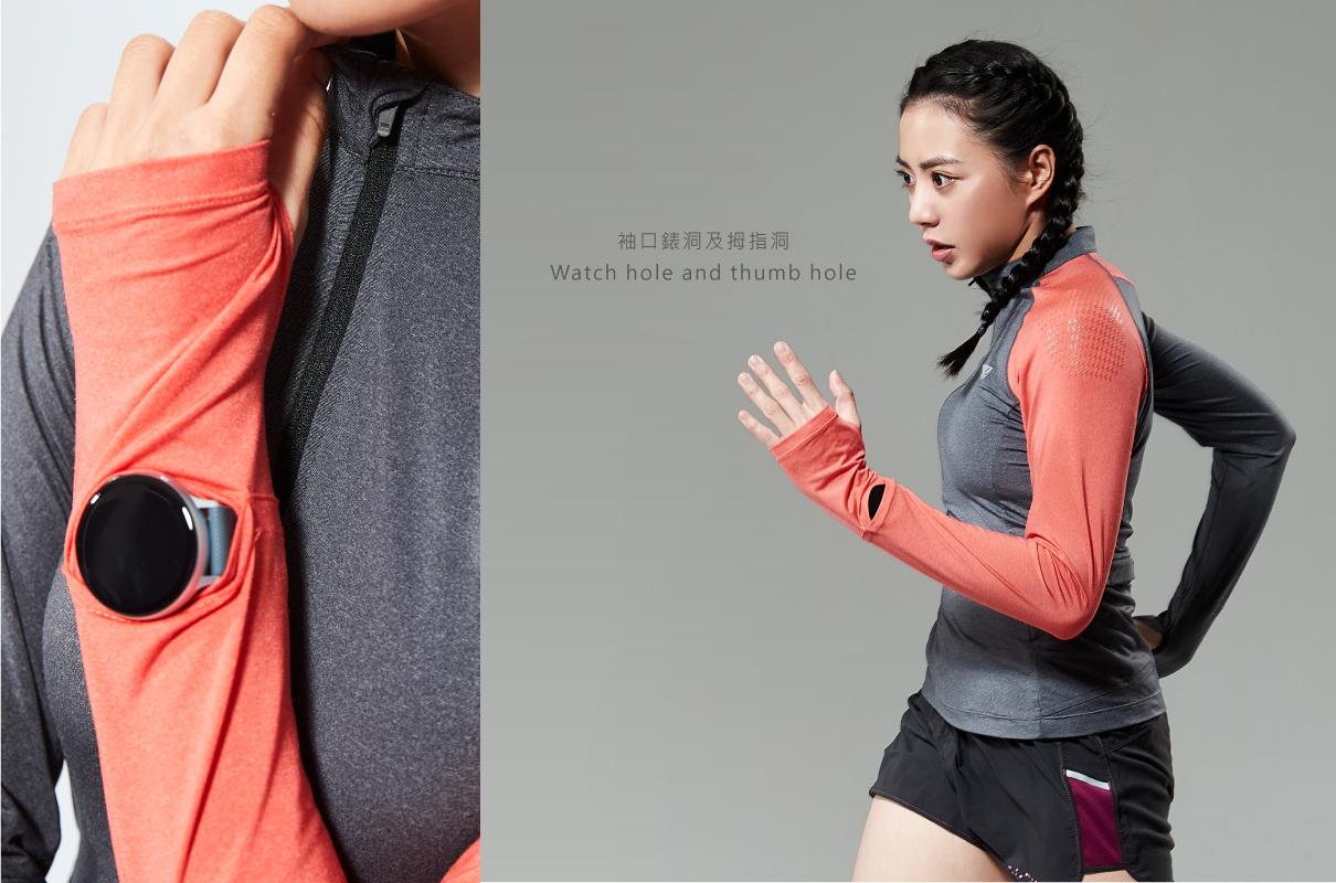 ZERO° TRAIL RUNNING L.S. TEE / WOMEN