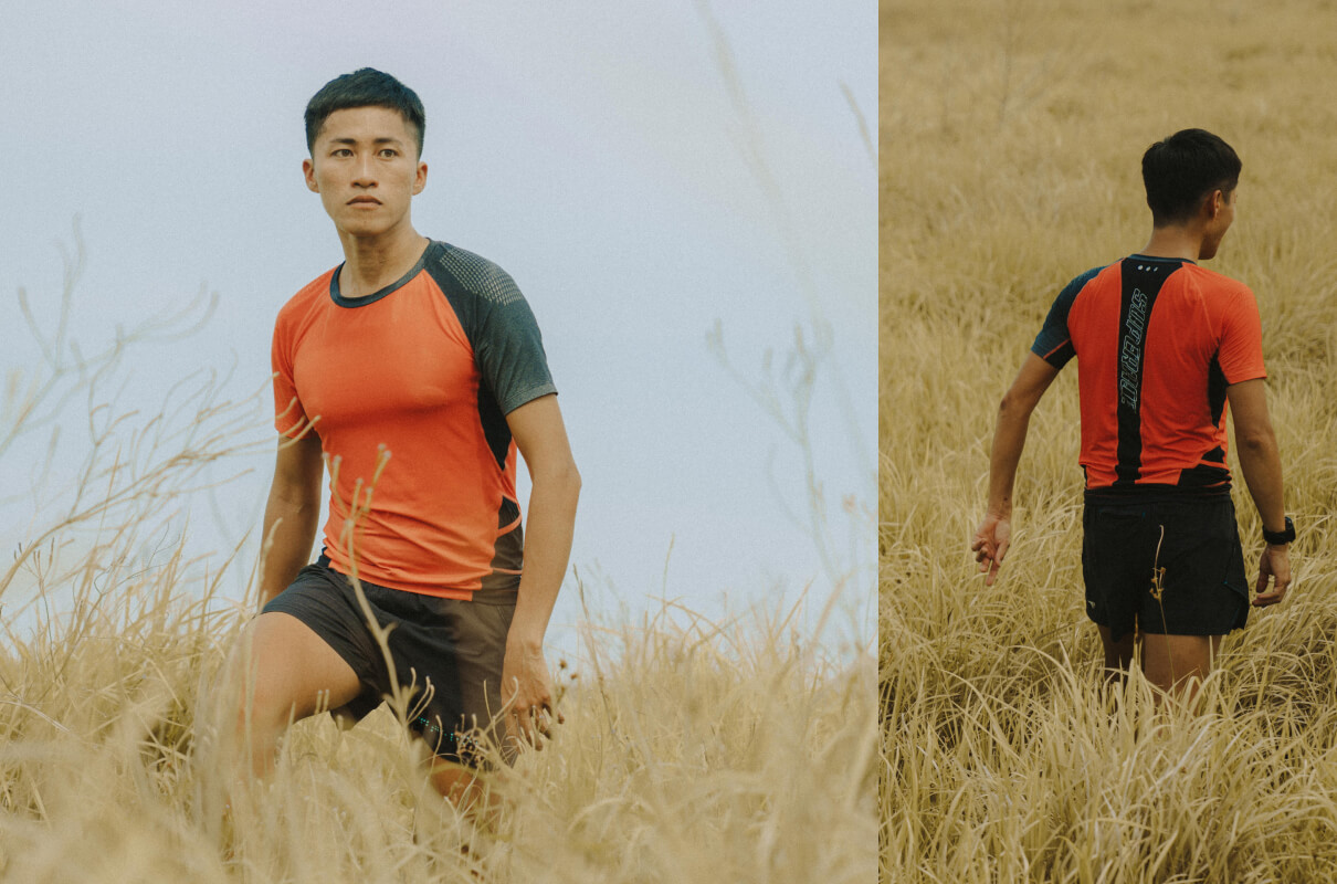 ZERO° TRAIL RUNNING TEE / MEN