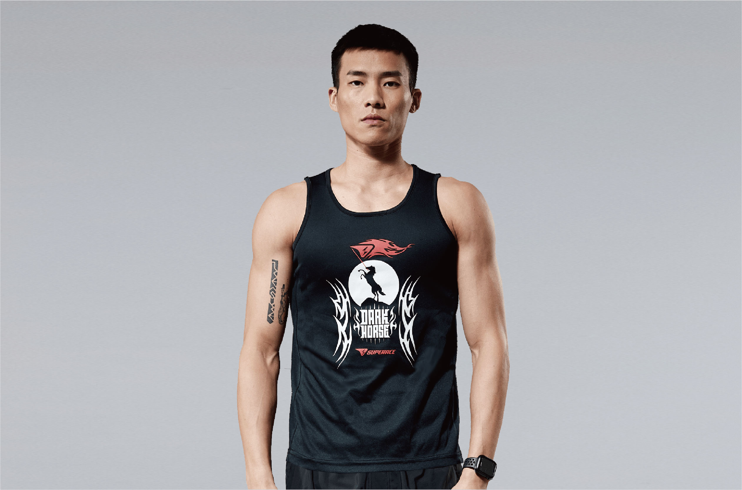 SUPERACE DH Running TANK TOP / UNISEX